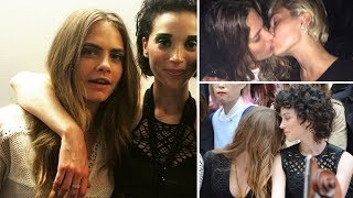 Cara Delevingne and St. Vincent's Cute and Romantic Moments of 2017