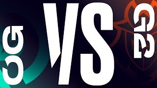 OG vs. G2 | Final Game 1 | LEC Spring Split | Origen vs. G2 Esports (2019)