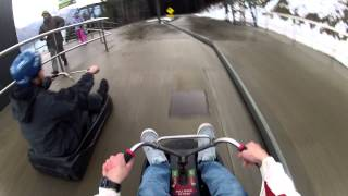 GoPro-Luge Queenstown NZ downhill race