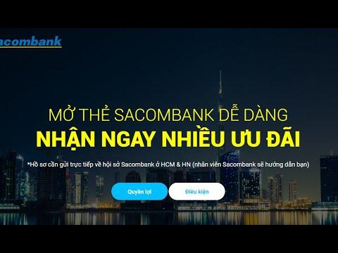 Mở Thẻ Tín Dụng Sacombank Dễ Dàng, So Sánh Lãi Suất Thẻ Sacombank Với Thẻ Tín Dụng Vietcombank