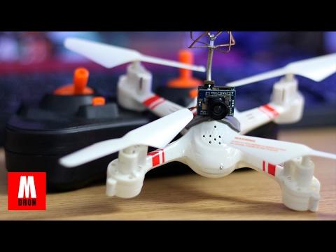 FRANKESTEIN DRONERO! : Montando una camara FPV en un drone barato Mould King Super F