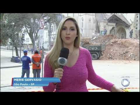 Bombeiros encontram segundo corpo no Largo do Paissandu