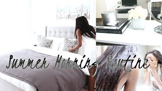 MY MORNING ROUTINE & MINI APARTMENT TOUR - SUMMER WEEKEND EDITION | Style With Substance