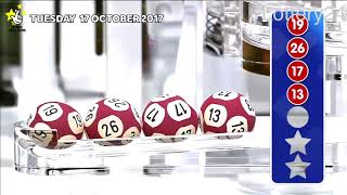 Video 2017 10 17 Euro Millions Number and draw results download MP3, 3GP, MP4, WEBM, AVI, FLV November 2017