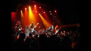 Skeletonwitch - Serpents Unleashed ( LIVE @ The London Music hall 2013)