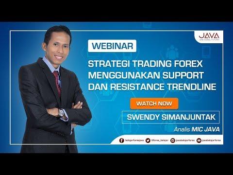Webinar Strategi Trading Forex Menggunakan Support dan Resistance Trendline