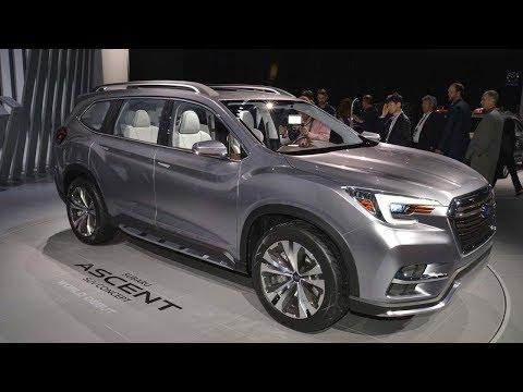 2019 Subaru Ascent Preps for Your Big Gulp