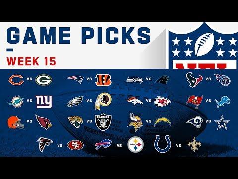 Week 15 Game Picks   NFL 2019