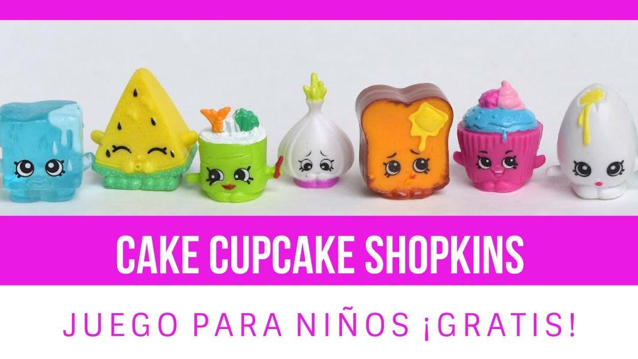 Cake Cupcake Shopkin Colorear Online Juego Gratis Para Ninos