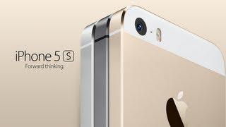 Презентация iPhone 5S на русском Touch ID Sensor
