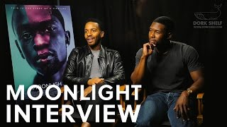 MOONLIGHT: Trevante Rhodes and André Holland Interview