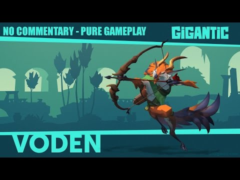 Gigantic - No Commentary - Voden Pure Gameplay (CBT)