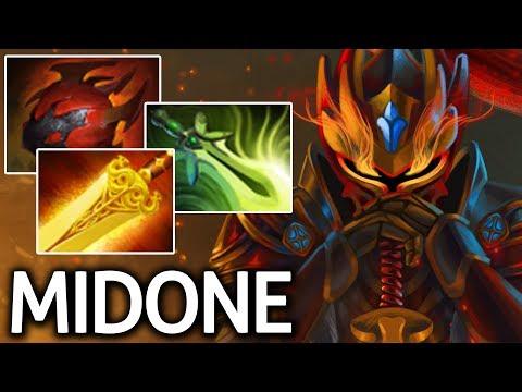 Tanky Build Radiance + Heart Dragon Knight by MidOne 7.06 Dota 2