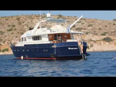 """M/Y Oh Que Luna! Charter Yacht in Greece"" - Greek Islands - Eastern Mediterranean"