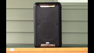 The QFX PBX-88 Portable Bluetooth Back Pack Speaker Review!