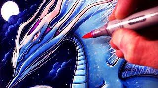 Let's Draw an AIR DRAGON - FANTASY ART FRIDAY
