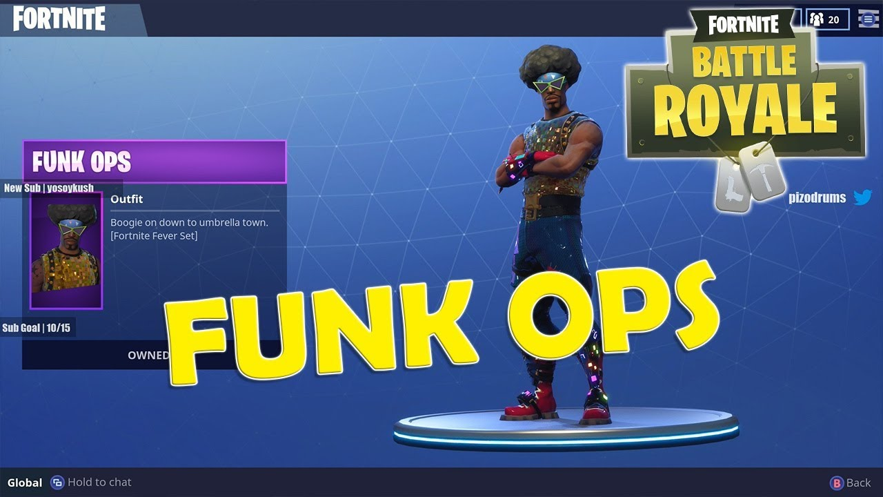 Fortnite Funk Ops Outfit With Win - YouTube