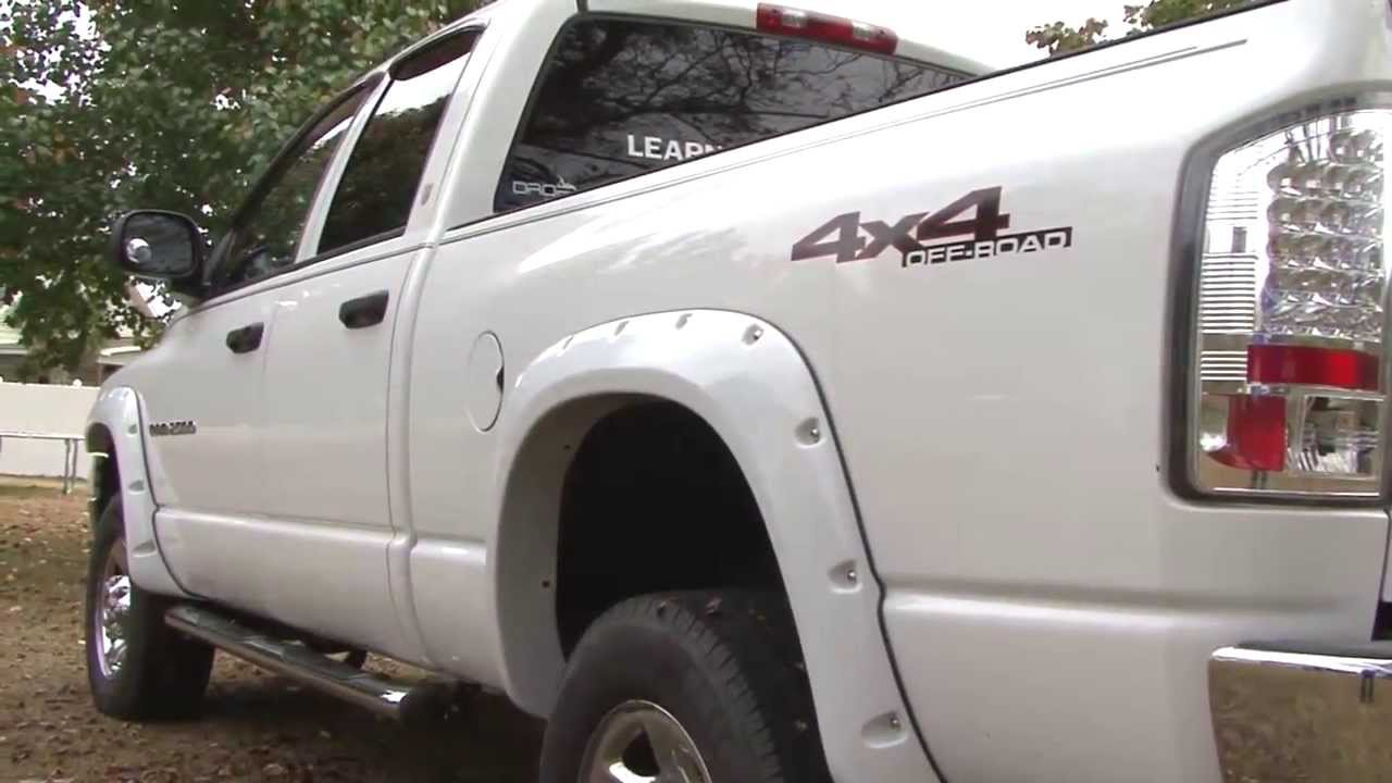 How To Install Bushwacker Fender Flares By Mark Polk Youtube