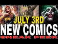 NEW COMIC BOOKS RELEASING JULY 3rd 2019 MARVEL AND DC COMICS COMING OUT THIS WEEK - WEEKLY PICKS