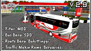 REVIEW UPDATE BUSSID V 2 9 MAKIN KEREN SUMPAH
