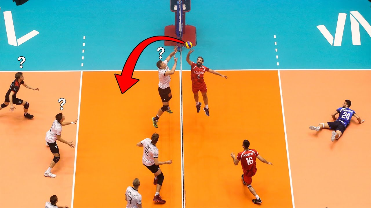 When Setters Have IQ 300 | Most Creative Volleyball Skills (HD)