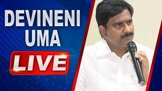 Devineni Uma LIVE   Press Meet in Vijayawada   ABN LIVE
