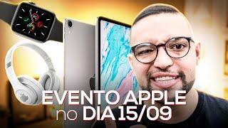 CONFIRMADO: Evento Apple no dia 15/09! (Novos iPads, Apple Watch 6, Airpods e mais)