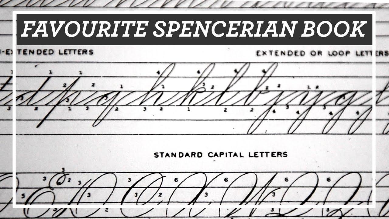 Favourite Spencerian Book New Spencerian Compendium Review For