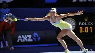 Sharapova scream compilation