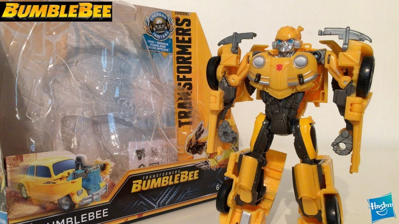 TRANSFORMERS MV6 BUMBLEBEE MOVIE ENERGON IGNITERS SPEED SERIES BARRICADE