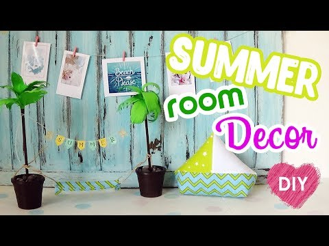 3 DIY for room decoration in marine style.  Easy DIY Projects For Summer
