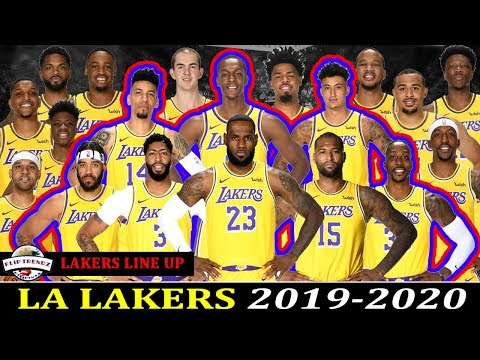 La Lakers Roster 2019 2020 Youtube