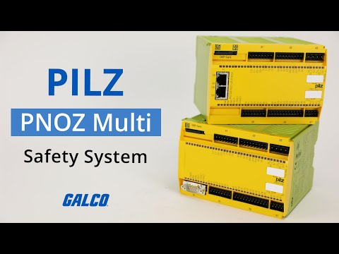 PILZ PNOZ Multi Safety System