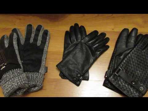 Классные кожаные перчатки из Китая Genuine Leather Gloves Aliexpress