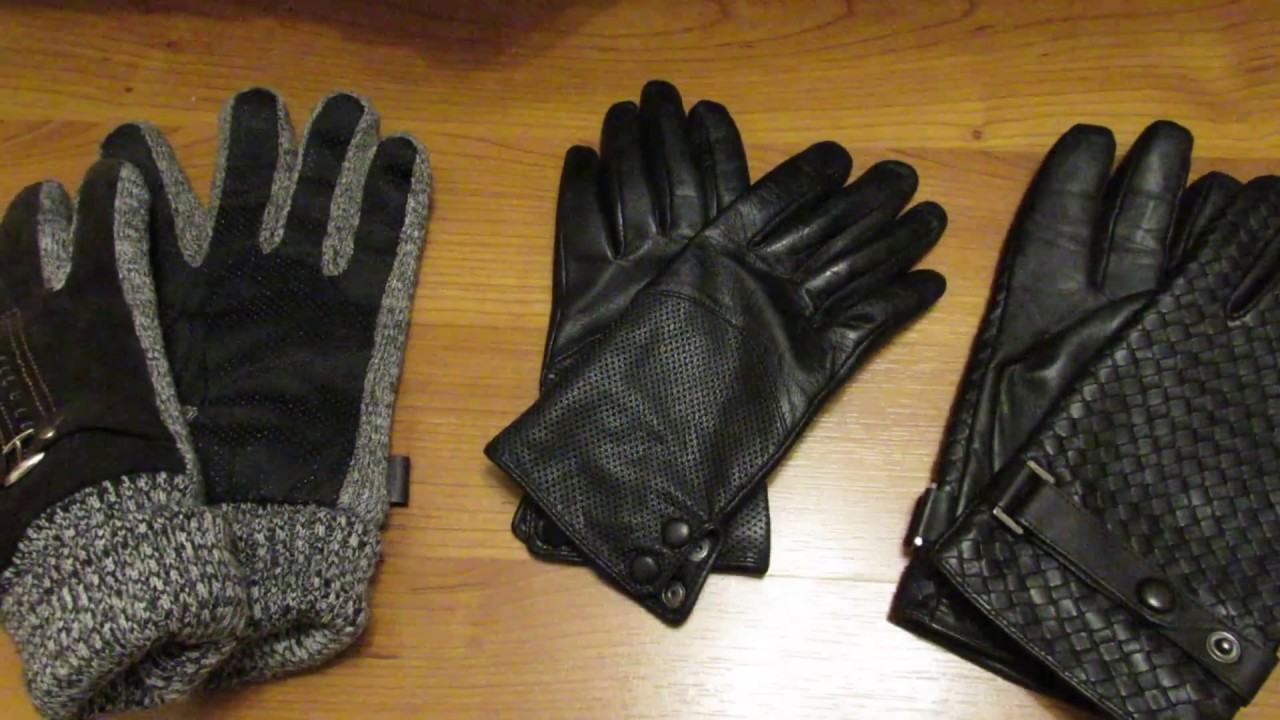Перчатки для водителей Damascus premium leather driving gloves .