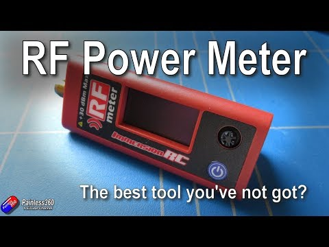 ImmersionRC RF Power Meter v2 - more useful than you think..