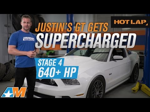 Justin's 2014 Mustang GT Build 640+ HP  Roush Supercharger, McLeod Clutch, Corsa Sport  HOT LAP