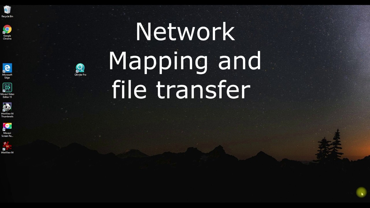 QNAP Mapping and File Transfer