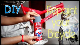 How to Repaint your BICYCLE