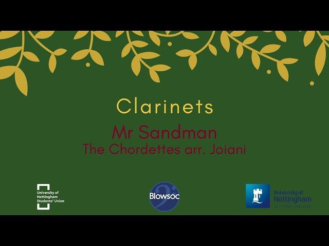 🐣 Clarinets, Mr Sandman