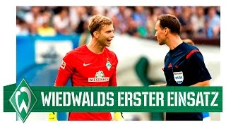 Felix Wiedwald Debüt für Werder Bremen I Hansa Rostock - Werder Bremen 1:1