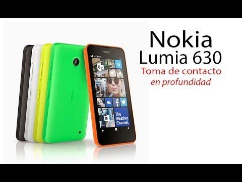 f496f1a6232 Nokia Lumia 630 / 635 review (en español) - YouTube