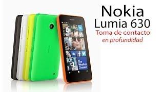 Nokia Lumia 630 / 635 review (en espanol)