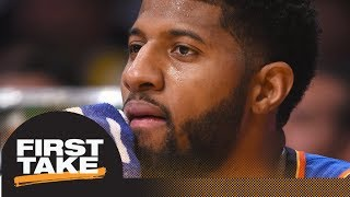 Stephen A. Smith on Paul George to Lakers: It's a long shot | First Take | ESPN