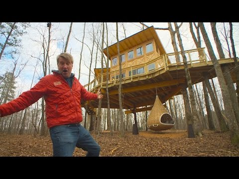 Behind the Build: Magical Modern Treehouse