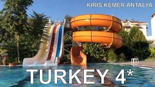 МИНИ АКВАПАРК в Турции в отеле PALMET RESORT KIRIŞ Kemer 19