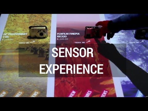 Lucent Lab | Interactive sensor screen and touch projection