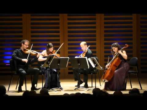 Carducci Quartet Mendelssohn string quartet No 6 in F minor Op80