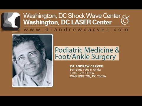 Washington DC Top Podiatrist Dr Andrew Carver, Sports Foot Doctor, Heel Pain-Orthotics-Fasciitis