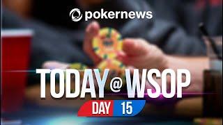 WSOP 2021 | POKER PLAYER WINS ONE MILLION DOLLARS! | Update Day 15